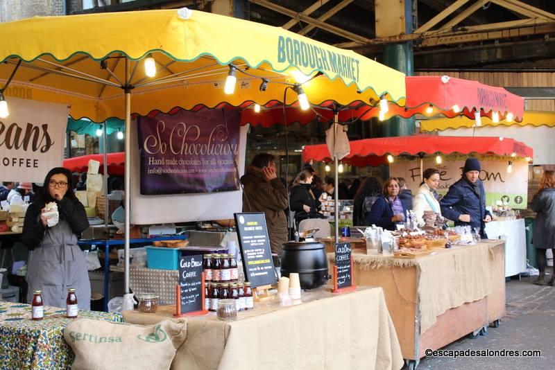 Découvrez Borough Market à Londres
