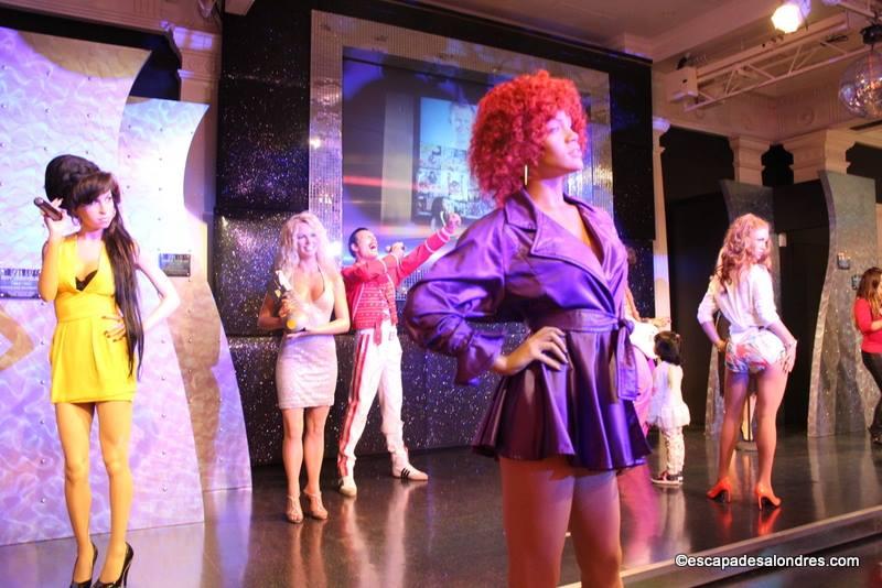 Rencontrez des célébrités chez Madame Tussauds à Londres