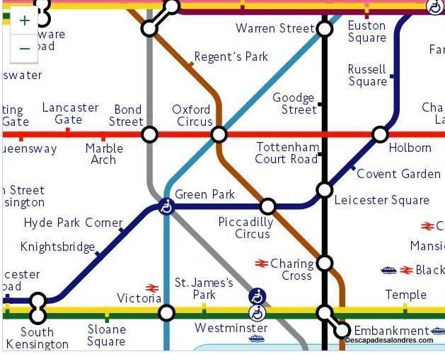 Tube Mape London