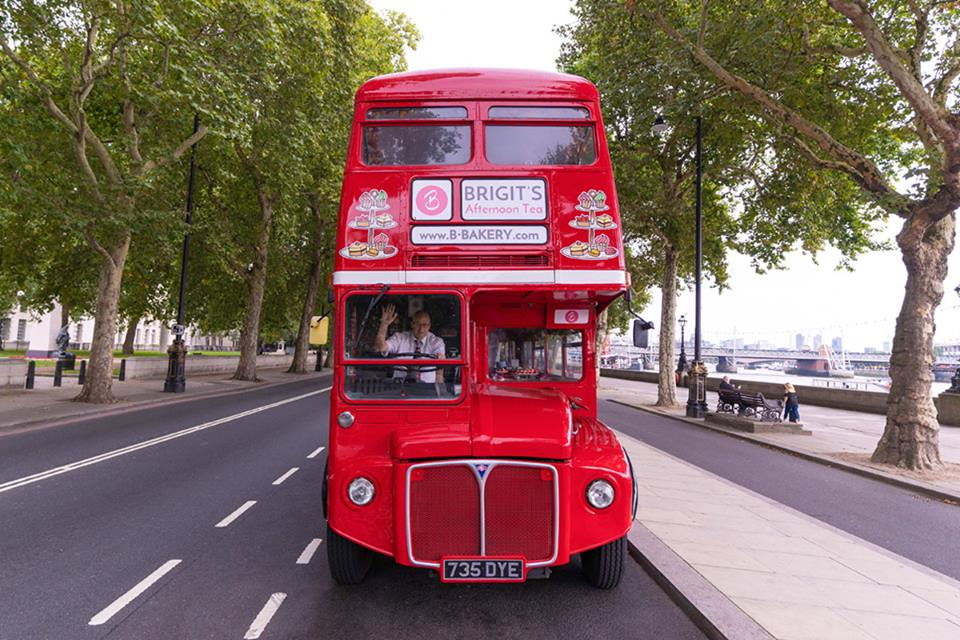 Afternoon tea bus tour BB Bakery Londres