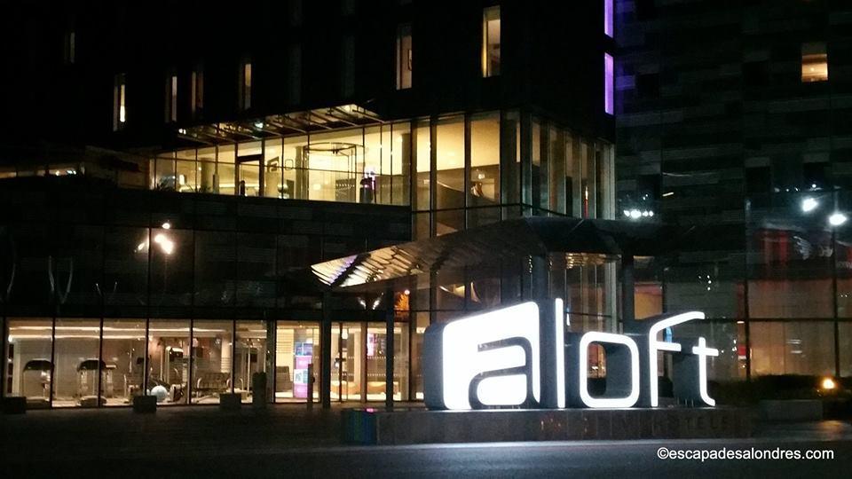 Aloft hôtel Londres