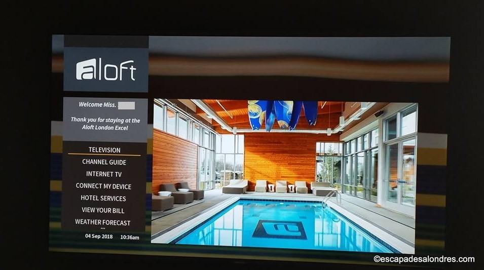 Aloft hotel londress