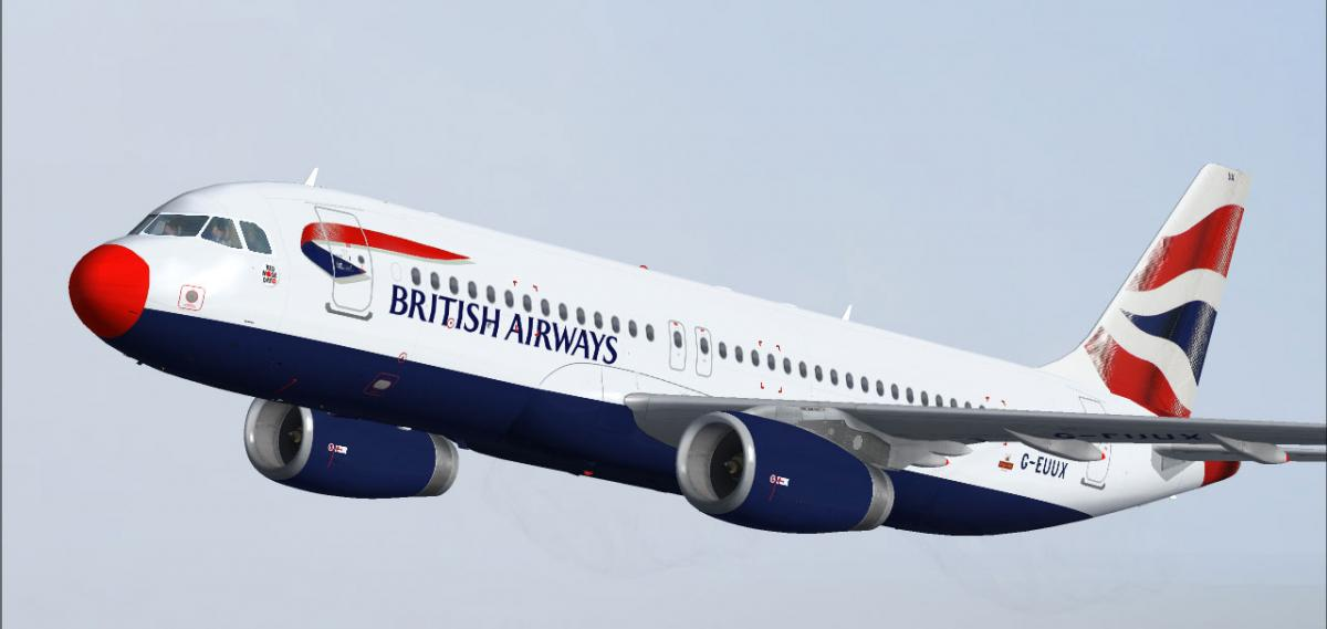 Avion brit airwaysa320