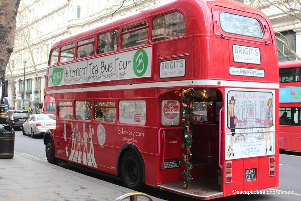 B bakery afternoon tea bus tour
