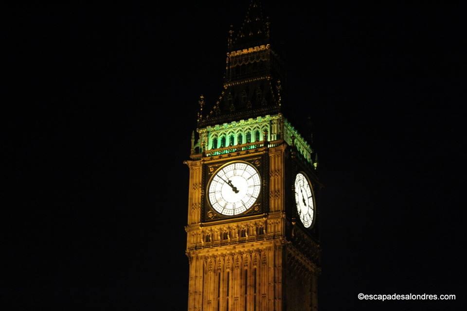 L'emblématique Elizabeth Tower et Big Ben