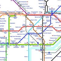 Calories walk London Tube