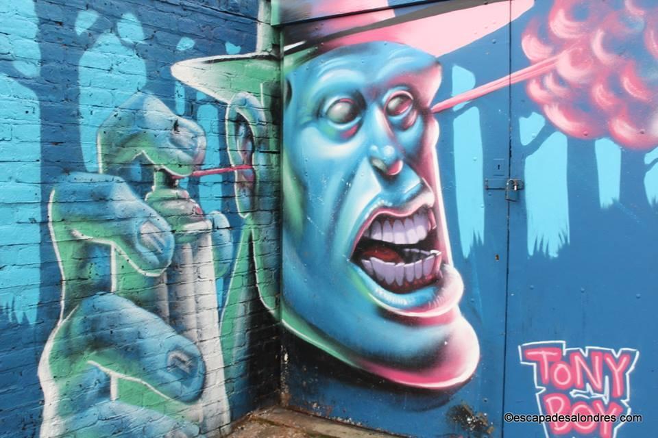 Camden Street Artist Tony Boy