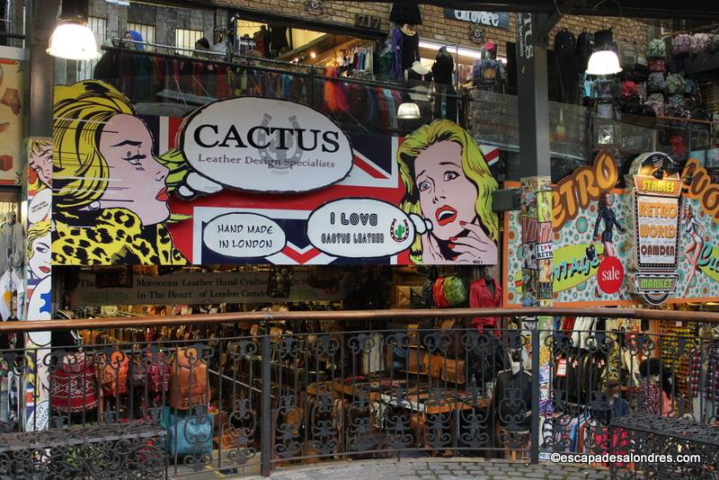 Visiter le très animé Camden Market à Londres