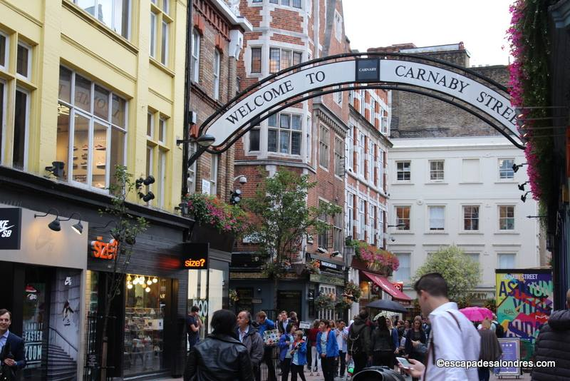 Une journ e shopping sur carnaby street - Bon plan shopping londres ...