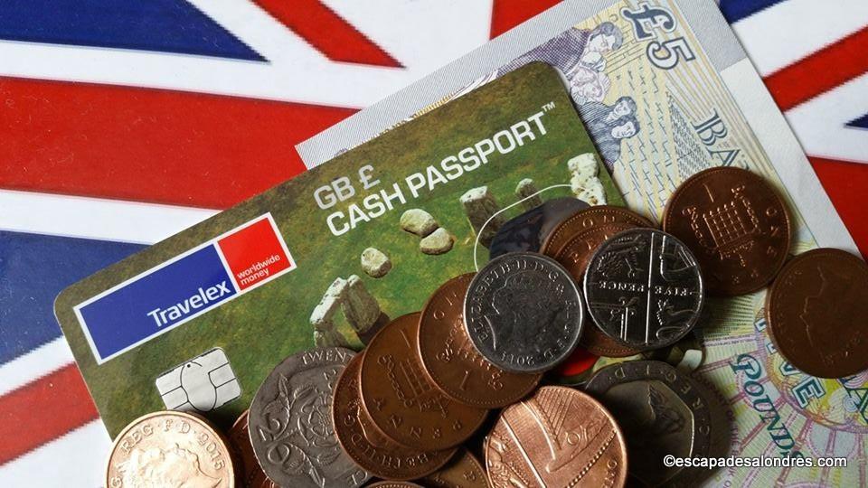Cash Passport la carte visa de voyage sans frais ni commissions supplémentaires