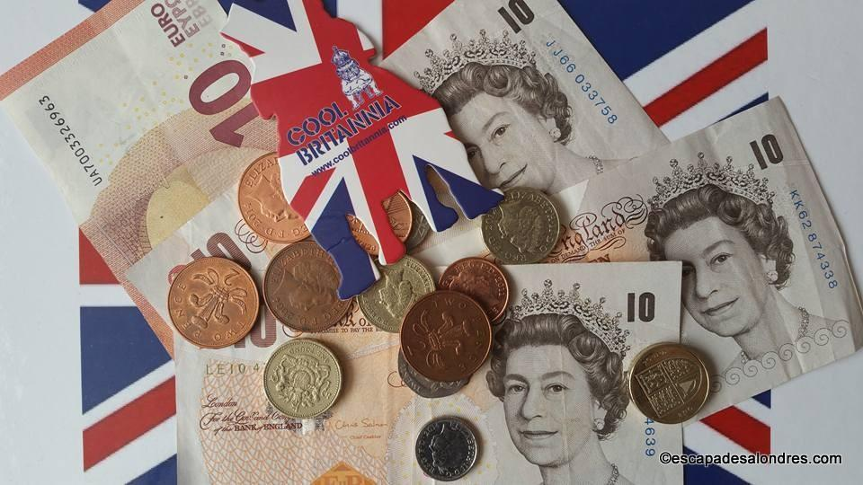 Changer des euros et livres sterling sans commission à Londres on