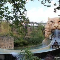 Chessington world Tiger Rock