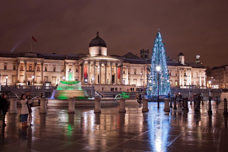 Christmas at trafalgar square@lukes photos