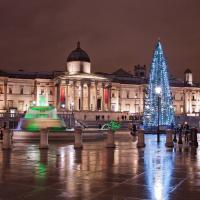 Christmas at trafalgar square@lukes photos