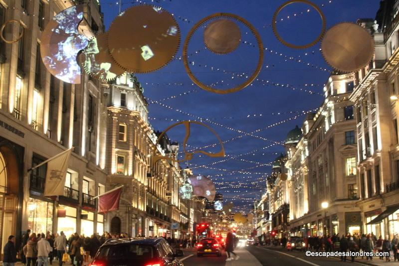 Decoration noel londres 2016