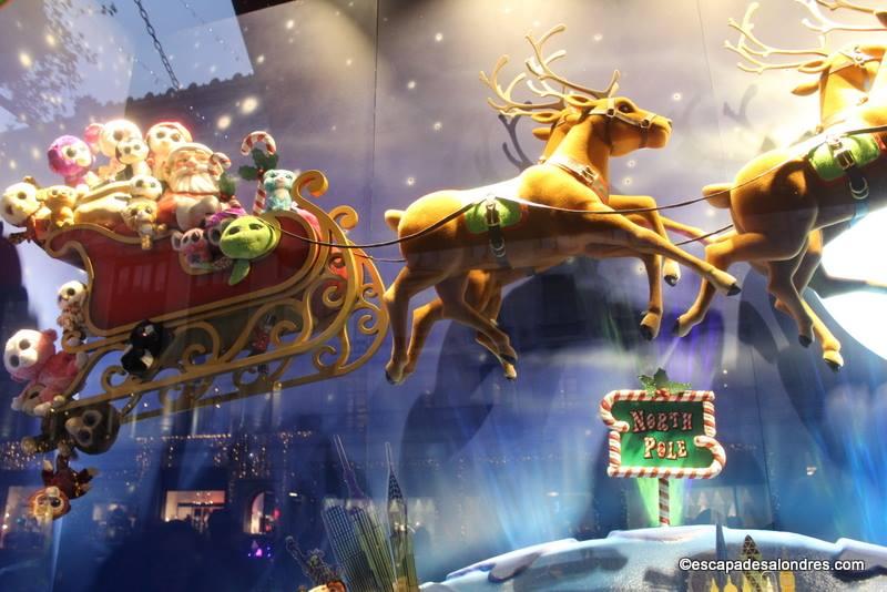 Christmas window london