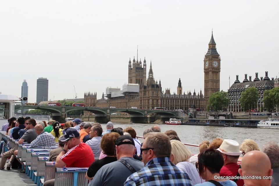 Les visites touristiques de Londres en bateaux de croisière