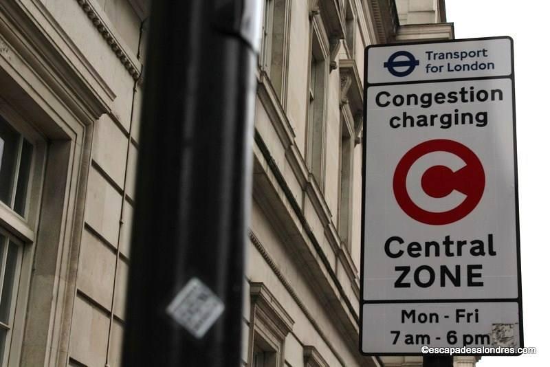 Congestion charges escapadesalondres
