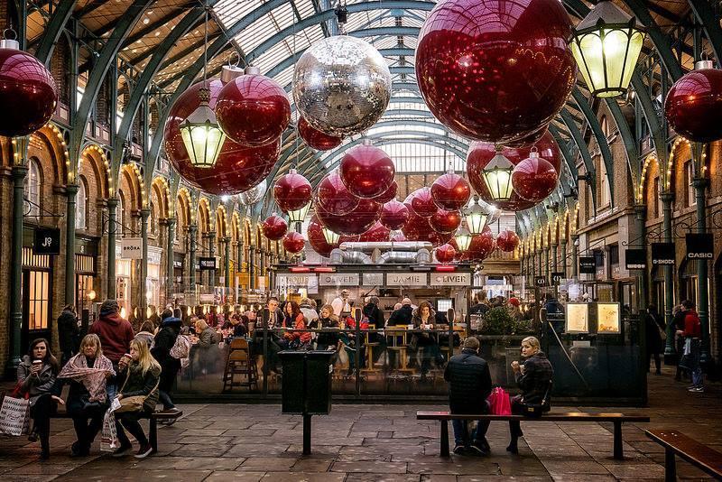 Date Decoration Noel Londres