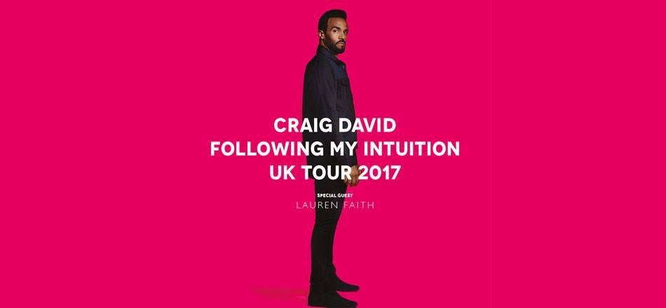 Craig david tour