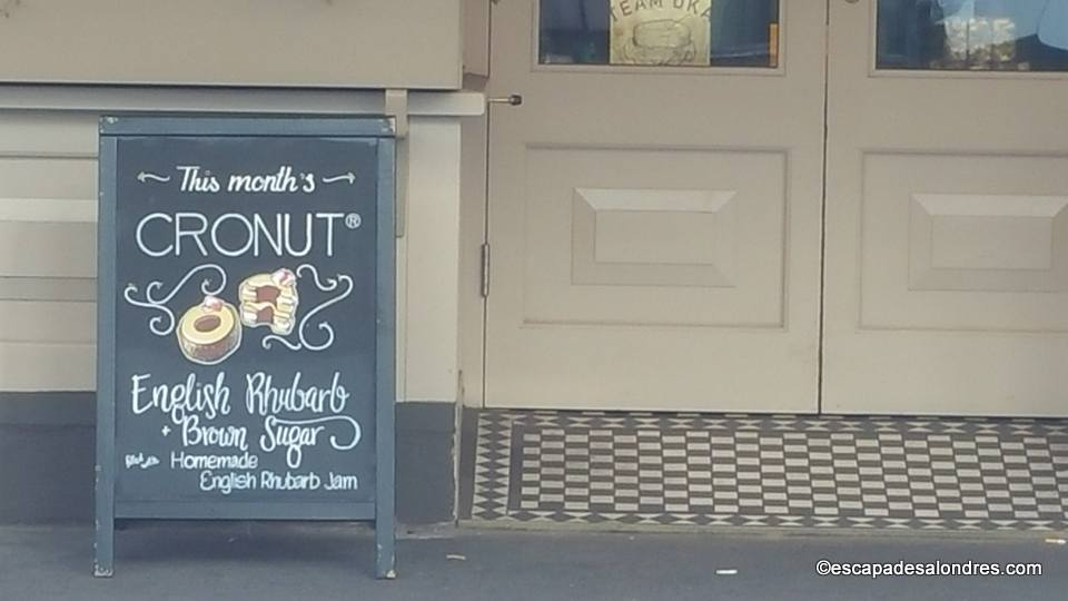 Cronut dominique ansel bakery London