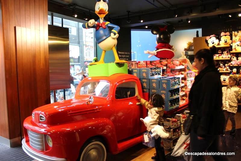 Disney store London