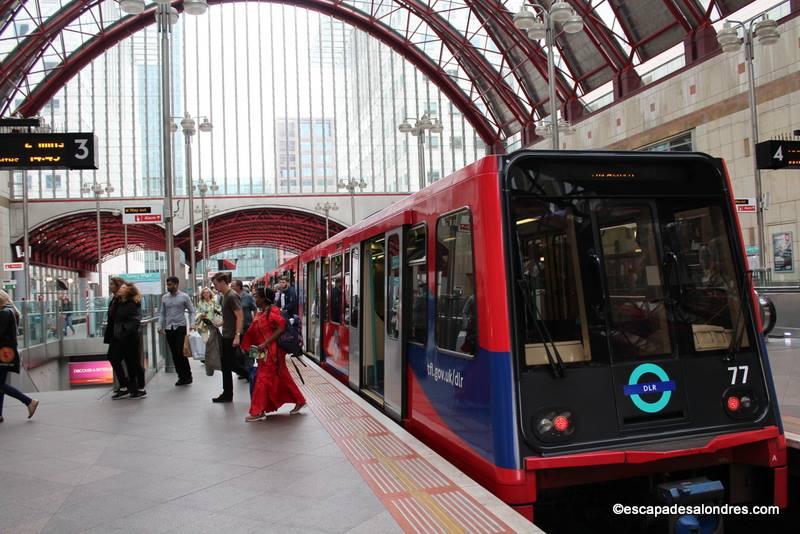 Le Docklands Light Railway pour vos déplacements à l'Est de Londres