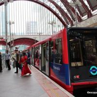 The Docklands Light Railway
