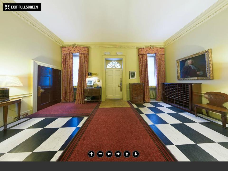 Downing street entrance hall©The Prime Minister's Office