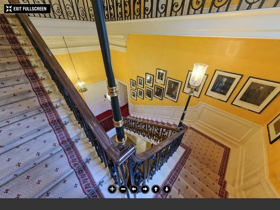 Downing street grand staircase©The Prime Minister's Office