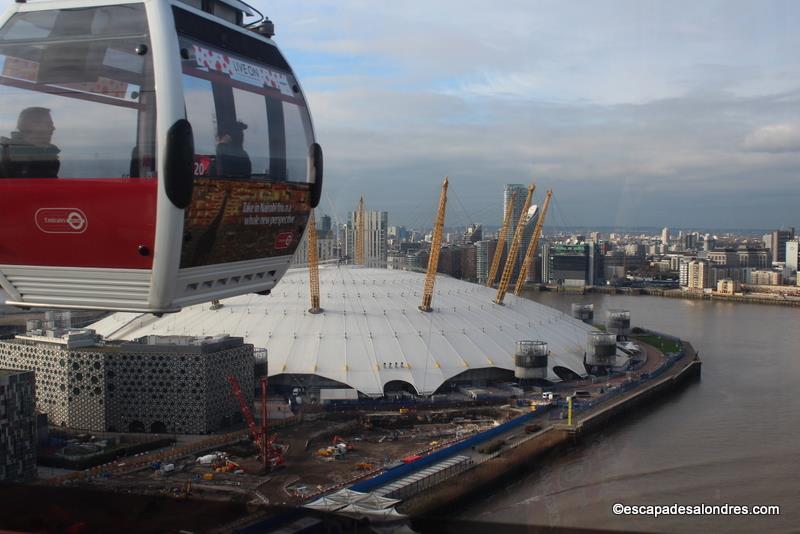 Survoler Londres à bord du téléphérique Emirates Air Line