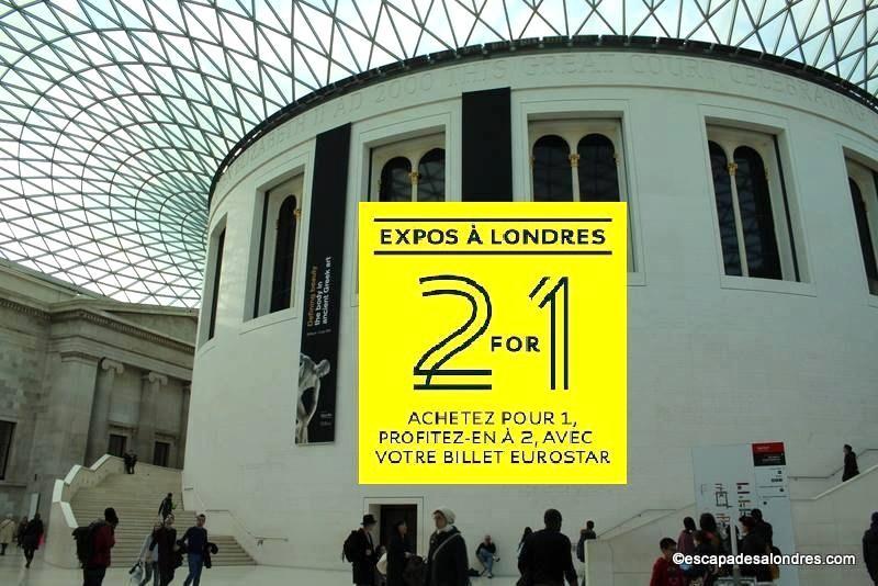 Eurostar 2for1 British Museum