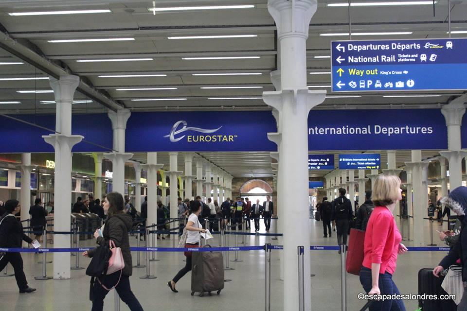 Eurostar London Saint Pancras