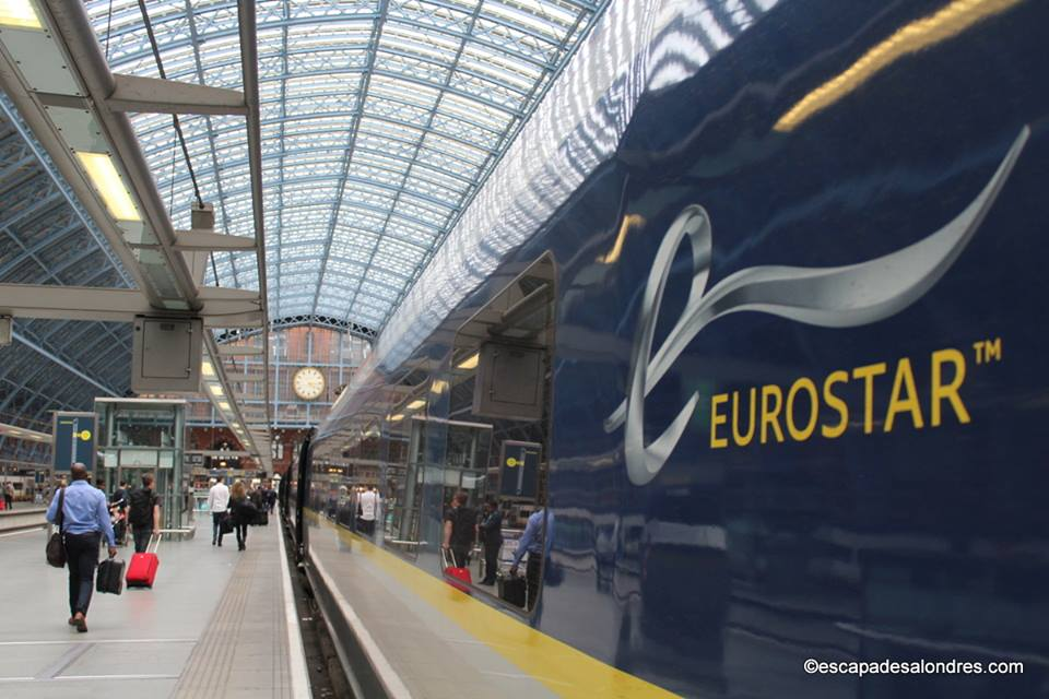 Se rendre à Londres en Train avec l'Eurostar