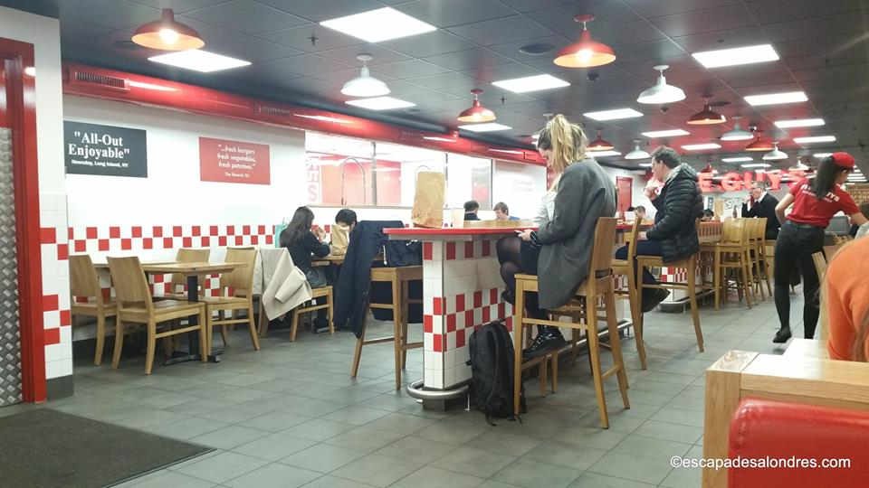 Five guys Londres