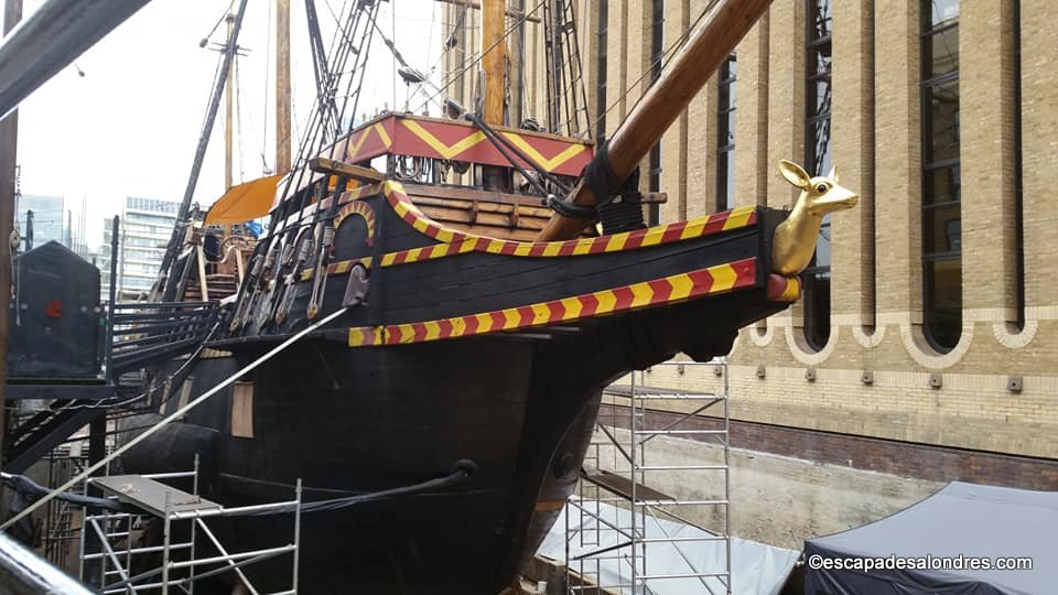 Golden hinde london 44