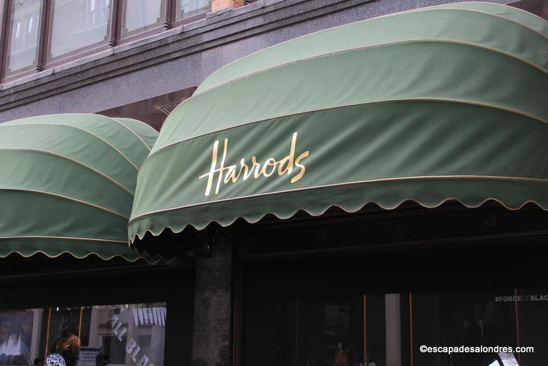 Le tr s chic magasin harrods londres - Bon plan shopping londres ...
