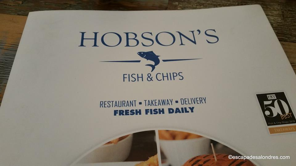 Hobson s fish chips londres 1