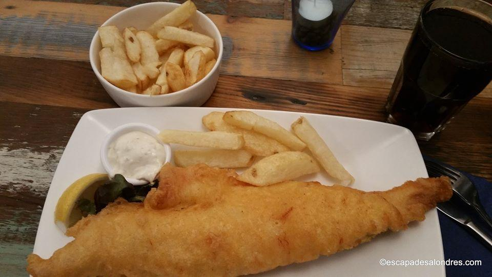 Hobson s fish chips londres