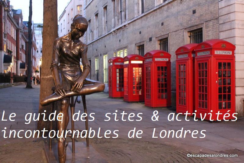 Le guide des sites & activités incontournables de Londres