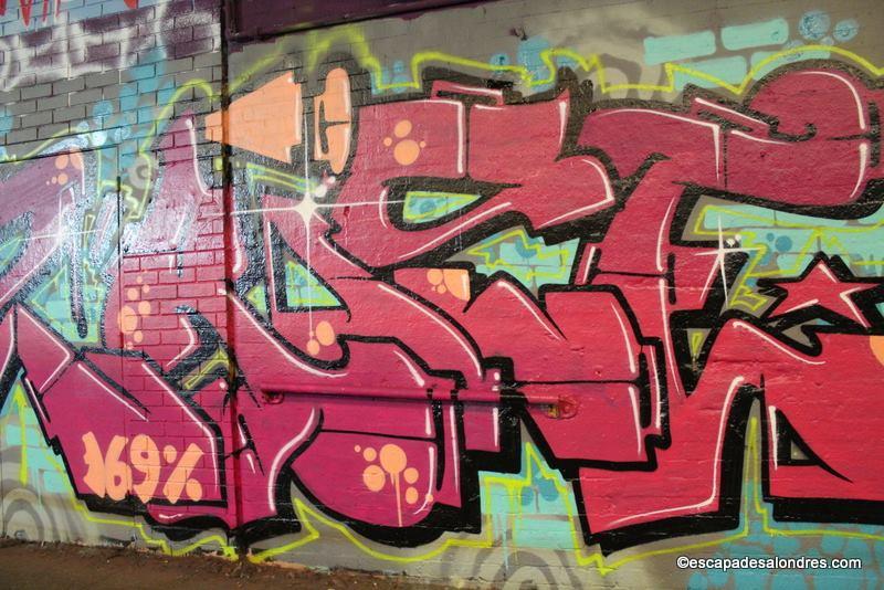 Partez à la découverte du Leake Street Graffiti Tunnel à Londres