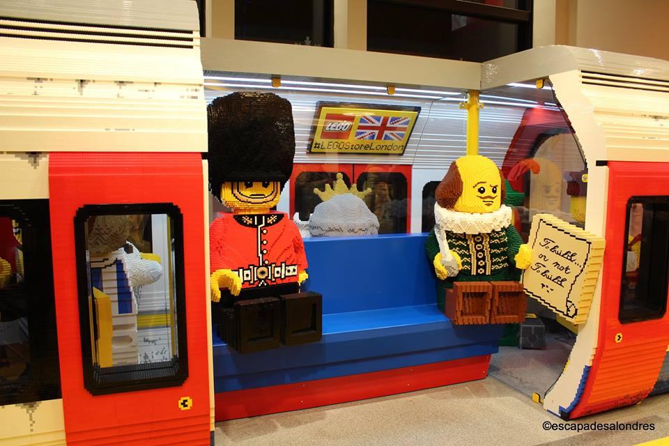 Au Briques En Lego Square De Store Leicester Londres 5Lc34SRqAj