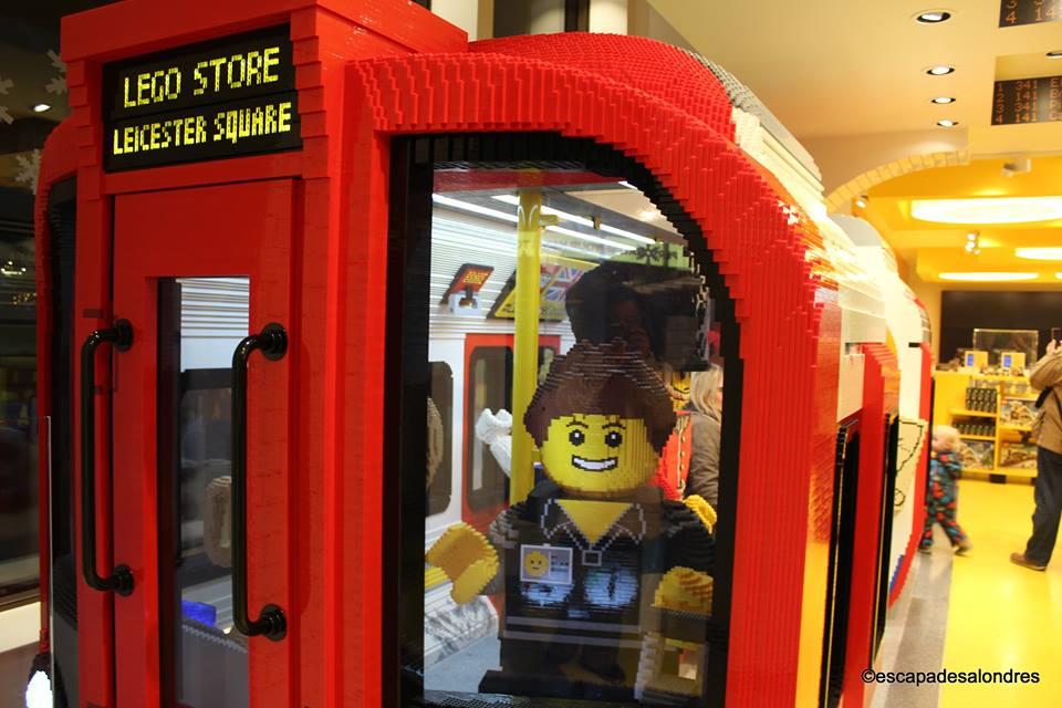 Londres en briques au lego store de leicester square - Boutique lego londres ...