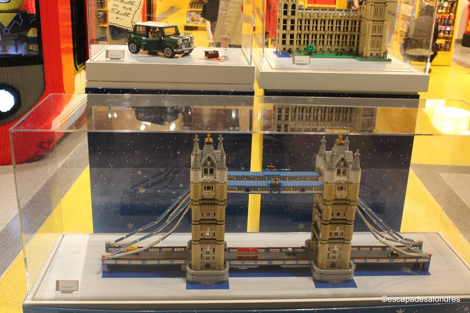 Lego store Leicester Square London