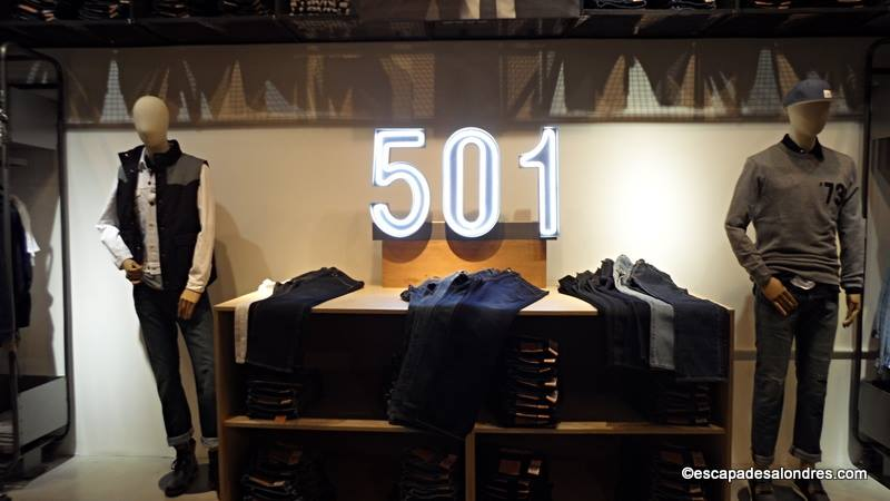 O acheter un authentique jean levi s londres - Bon plan shopping londres ...