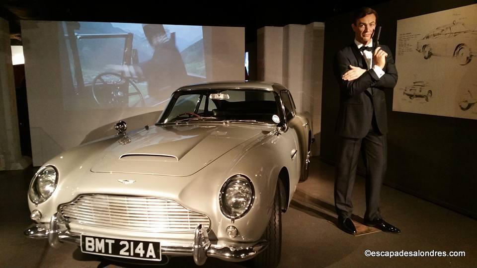 London film museum james bond