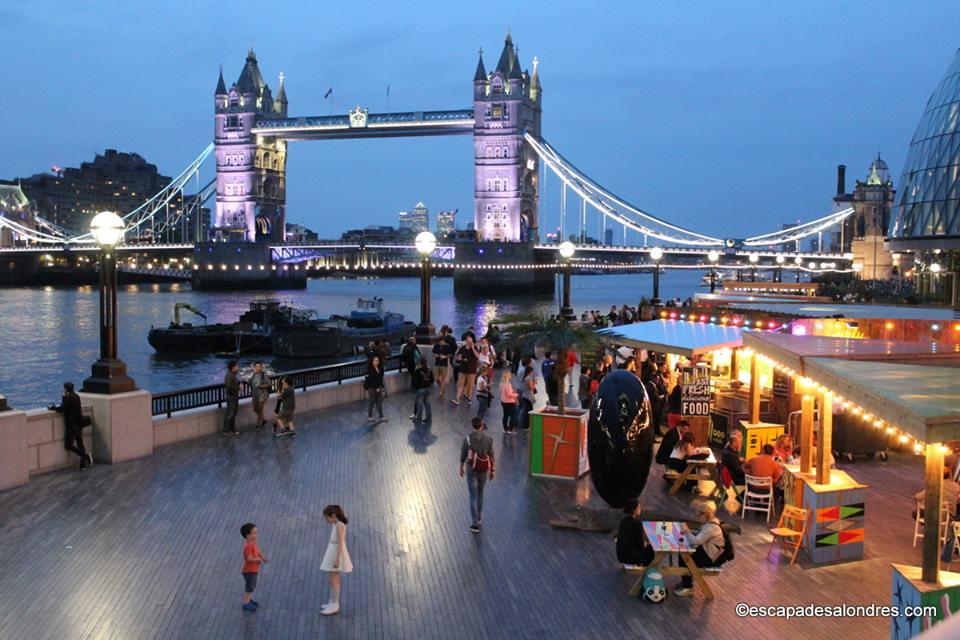 Londres en juin
