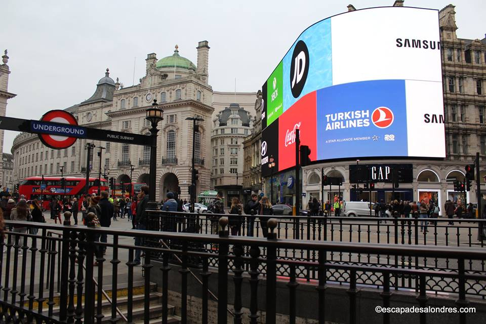 Londres piccadilly circus
