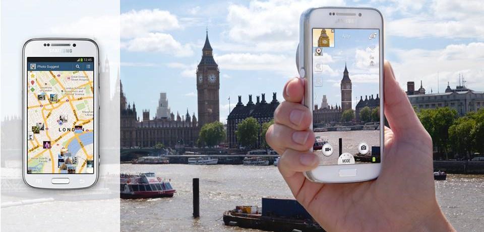 Londres en poche©samsung mobile