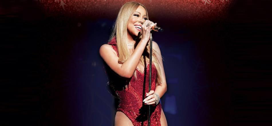 Mariah at the o2
